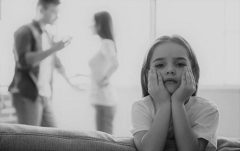 تاثیر طلاق بر فرزندان دختر